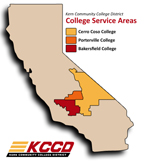 District Service Area (golds)